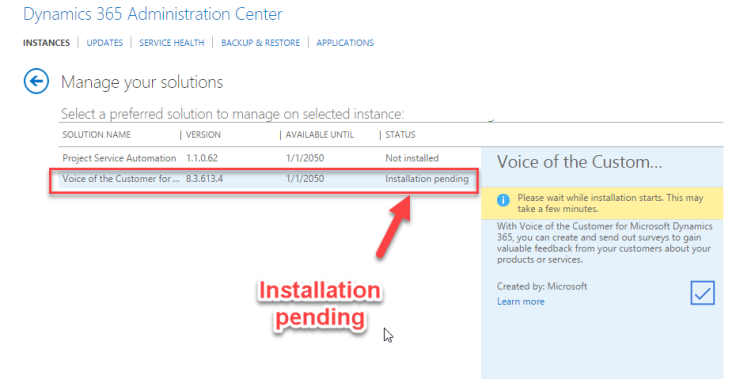 How to Configure Voice of the Customer in Dynamics 365 – Microsoft